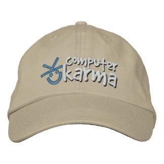 Boné Chapéu das karmas do computador