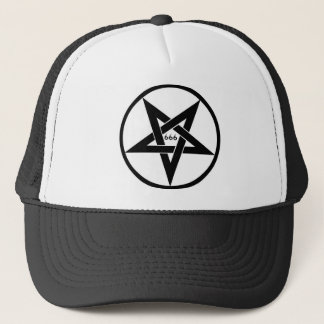 Boné Chapéu de 666 Pentagram