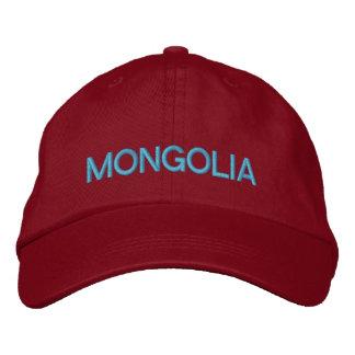 Boné Chapéu de basebol ajustável de Mongolia