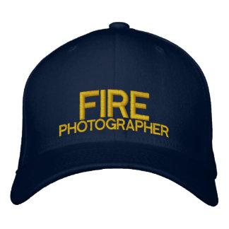 Boné Chapéu de basebol do fotógrafo do fogo