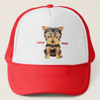 Boné Chapéu de basebol do presente do cão de brinquedo