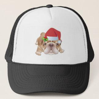 Boné Chapéu de basebol do presente do cão do Natal