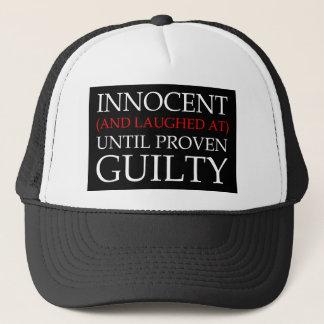 Boné Chapéu de basebol inocente e rido