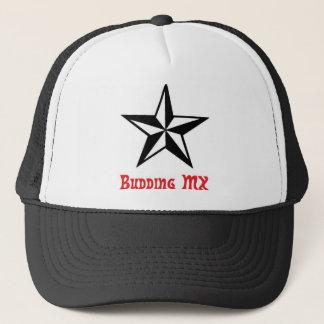 Boné Chapéu de brotamento da estrela do MX - camionista