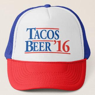 Boné Chapéu de campanha da cerveja '16 do Tacos