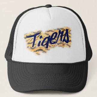 Boné chapéu de coco principal dos tigres