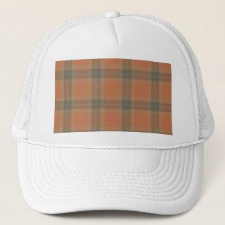 Boné Chapéu de creme do camionista do Tartan