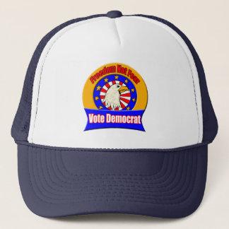 Boné Chapéu de Democrata do medo da liberdade não