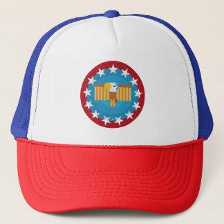 Boné Chapéu de Eagle da liberdade (vermelho) -