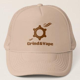 Boné Chapéu de fumo do camionista do design do logotipo