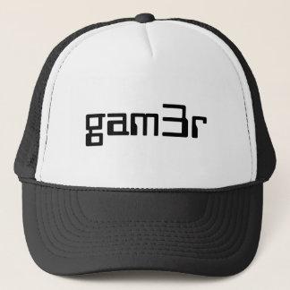 Boné chapéu de gam3r/boné do camionista
