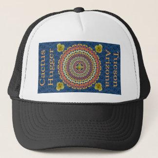 Boné Chapéu de Hugger do cacto com a mandala 2 do cacto