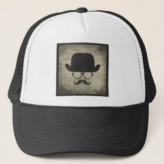 Boné Chapéu de jogador do Moustache do Dever-Traço do