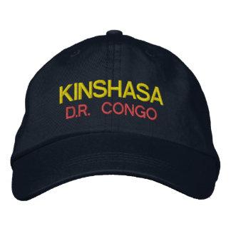 Boné Chapéu de Kinshasa - de Congo Emboidred