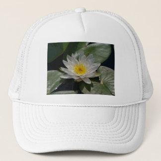Boné Chapéu de Lotus branco Waterlily