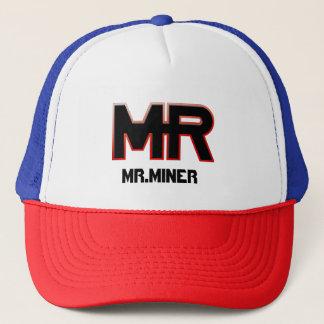 BONÉ CHAPÉU DE MR.MINER