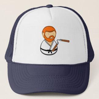 Boné Chapéu de Ninja do karaté