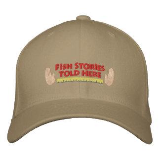 Boné Chapéu de pesca bordado engraçado