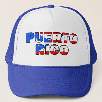 Boné Chapéu de Puerto Rico