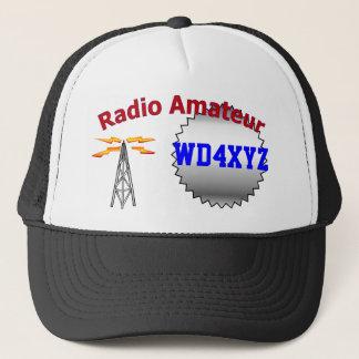 Boné Chapéu de rádio amador