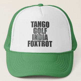 Boné Chapéu de TGIF: Fonética da OTAN