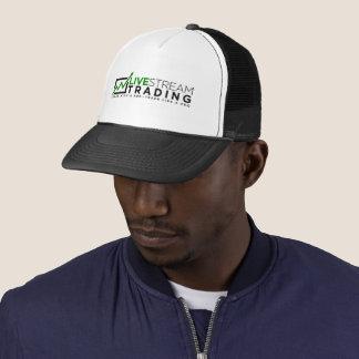 Boné Chapéu de troca do camionista de LiveStream