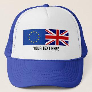 Boné Chapéu de votação BRITÂNICO do camionista do