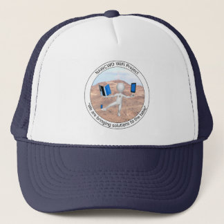 Boné Chapéu de WiFi