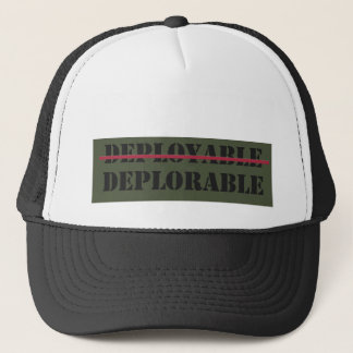 Boné Chapéu Deployable/deplorável