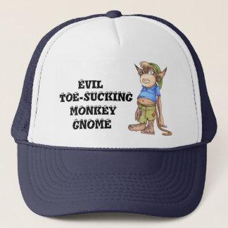 Boné Chapéu deSugação mau do camionista do gnomo do