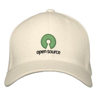 Boné Chapéu do ajustado do cabo flexível de Open Source