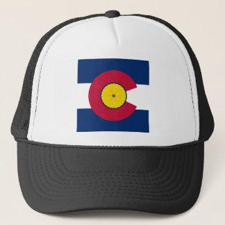 Boné Chapéu do andando de bicicleta de Colorado