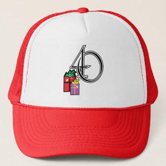 Boné Chapéu do aniversário de 40 anos