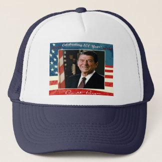 Boné Chapéu do aniversário de Reagans 100th