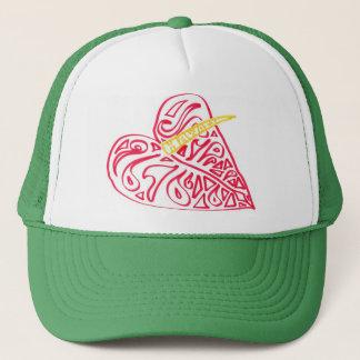 Boné Chapéu do antúrio