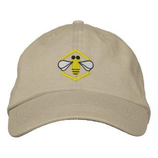 Boné Chapéu do apicultor da abelha (bordado)