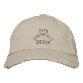 Boné Chapéu do atirador furtivo do bebendo da cerveja
