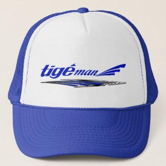 Boné Chapéu do azul do homem de Tige