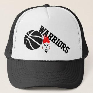 Boné Chapéu do basquetebol do camionista dos guerreiros