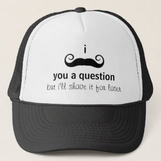 Boné Chapéu do bigode