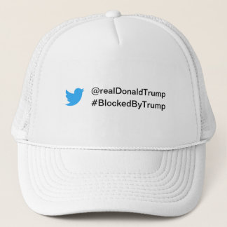 Boné Chapéu do #BlockedByTrump