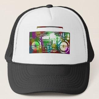Boné chapéu do boombox do anos 80