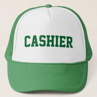 Boné Chapéu do CAIXA com texto verde
