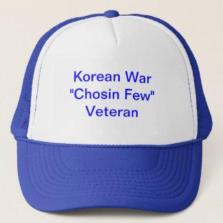 """Boné Chapéu do camionista com Guerra da Coreia """"Chosin"""