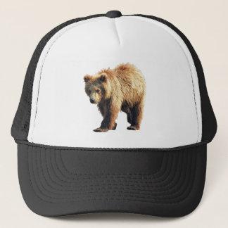 Boné Chapéu do camionista com o filhote de urso do urso