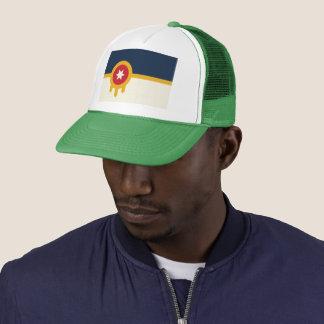 Boné Chapéu do camionista da bandeira de Tulsa