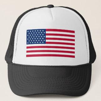 Boné Chapéu do camionista da bandeira dos EUA