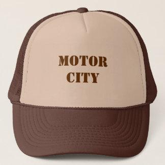 Boné Chapéu do camionista da cidade do motor