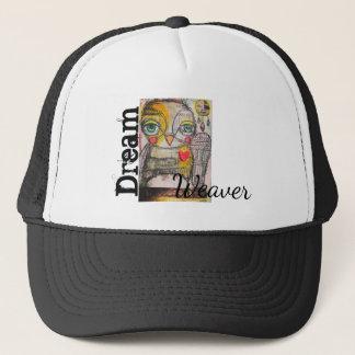 Boné Chapéu do camionista da coruja por Michelle Sylvia