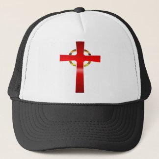 Boné Chapéu do camionista da cruz celta